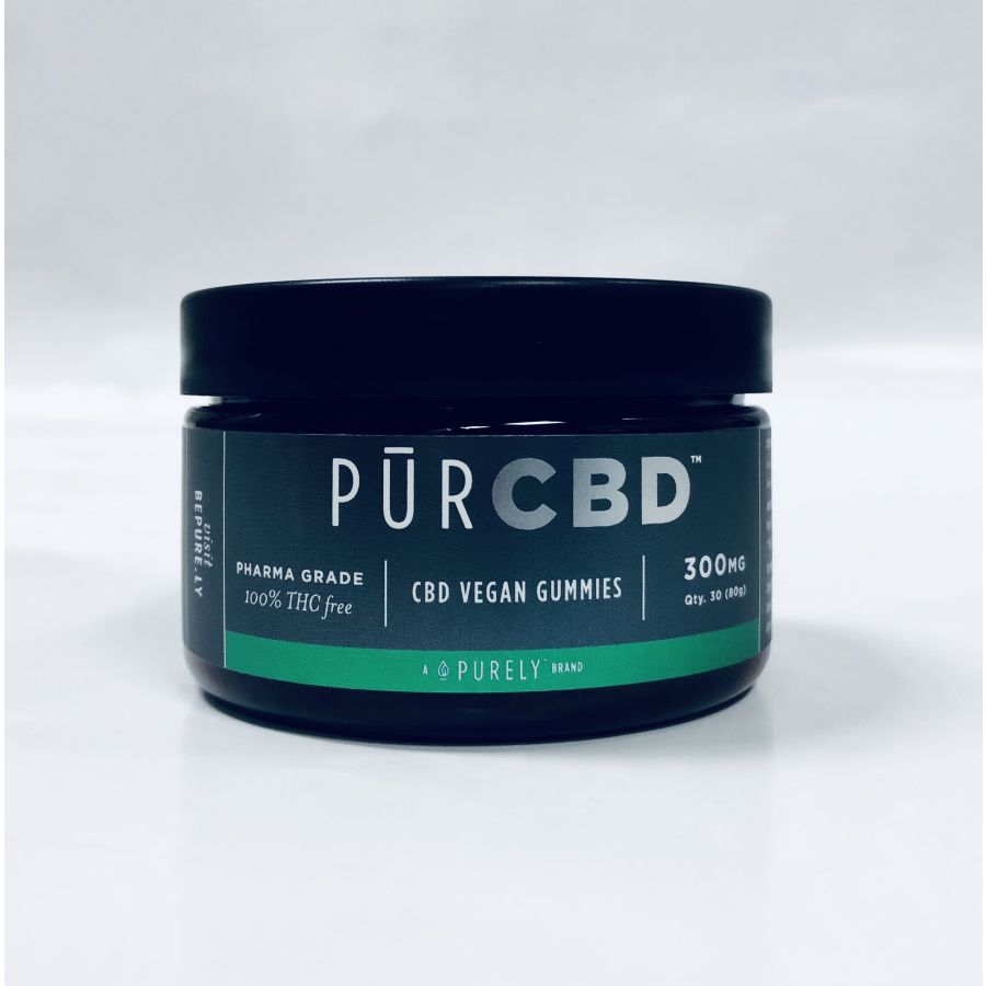 PurCBD Vegan Gummies (300 mg)